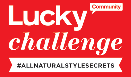 lucky challenge #all natural style secrets